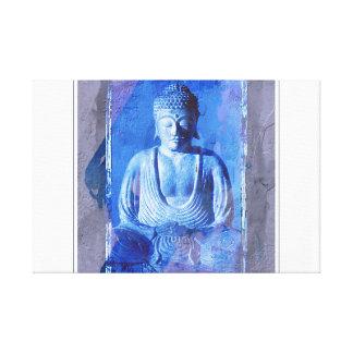 Buddha placerade canvastryck