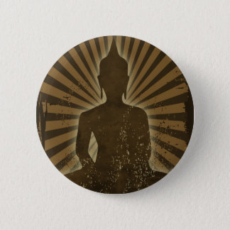 Buddha Standard Knapp Rund 5.7 Cm
