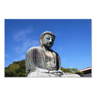 Buddha staty i Kamakura, Japan Fototryck