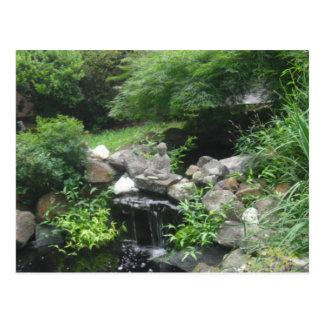 Buddha vattenfallvykort vykort