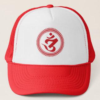 Buddistiska Siddham skrivar Om-symbollocket Keps