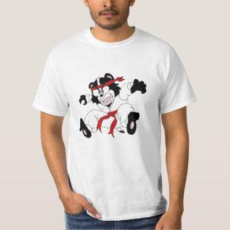 Budget- T-tröja för Kung Foo apabäverskinn T Shirt