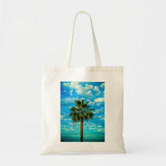 Budget- toto med palmträdet tygkasse