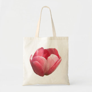 Budget- toto - rosa tulpan tote bags