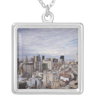 Buenos Aires horisont 2 Silverpläterat Halsband