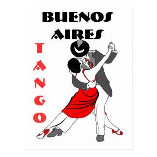 Buenos Aires Tango Vykort