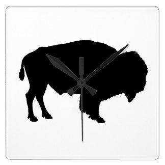 Buffel Fyrkantig Klocka