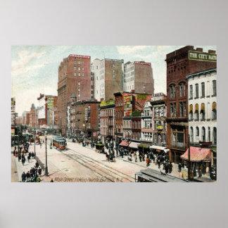 Buffel huvudsakliga St. tittar Nord, 1907 Poster