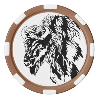 Buffelchiper Poker Marker