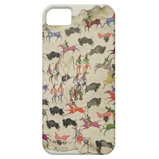 Buffeljakt (pigmenten älg-flår på), barely there iPhone 5 fodral