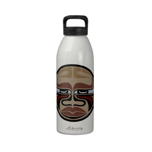 Buffeln maskerar - den Aluminum vattenflaskan - in Återanvändningsbar Vattenflaskor