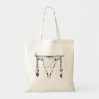 Buffelskallen & leda i rör tygkasse