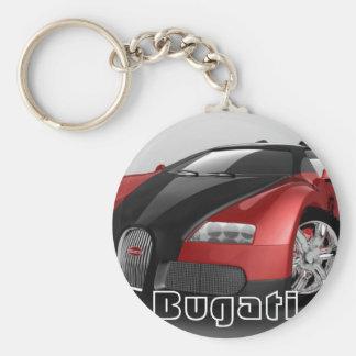 Bugati Keychain Rund Nyckelring