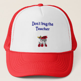 Bugga inte lärarehatten truckerkeps