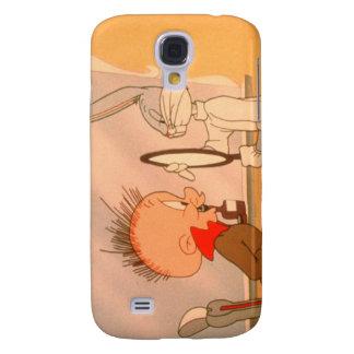 BUGS BUNNY ™ och ELMER FUDD™ 2 Galaxy S4 Fodral