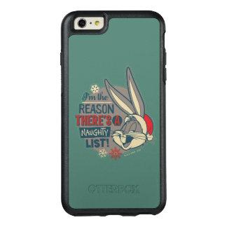 BUGS BUNNY ™ - resonera där är ett styggt listar OtterBox iPhone 6/6s Plus Skal