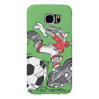 BUGS BUNNY ™ som leker fotboll Galaxy S5 Fodral