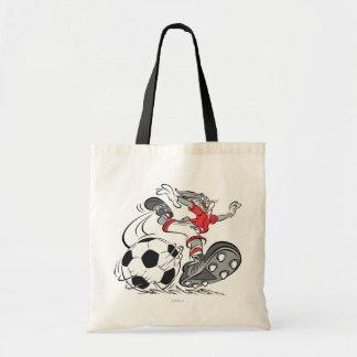 BUGS BUNNY ™ som leker fotboll Tygkasse
