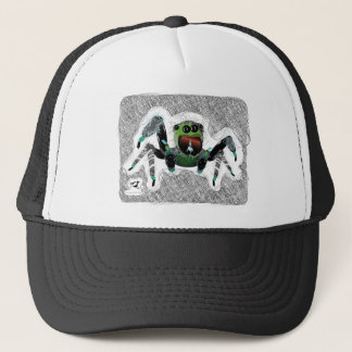 Bugzter - lycklig hårig spindel keps