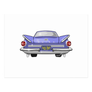 Buick 1960 Electra Vykort
