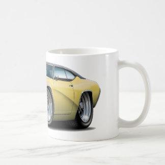 Buick GS Solbränna-Svart bästa bil 1969 Kaffemugg