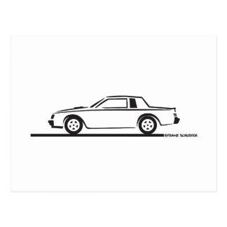 Buick tusen dollarmedborgare 1987 vykort