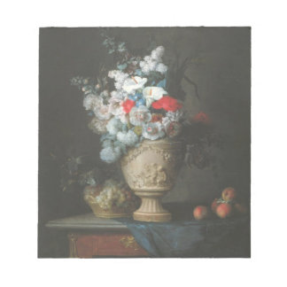 Bukett av den blommaanteckningsblocket 1776 anteckningsblock