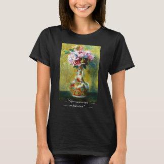 Bukett i en vasPierre Auguste Renoir målning T-shirt