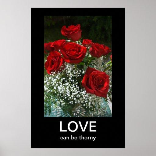 Bukett med rosorAnti-Valentines Demotivational aff Posters