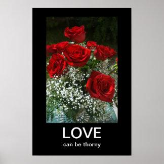 Bukett med rosorAnti-Valentines Demotivational Poster