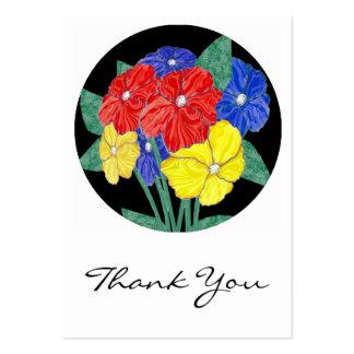 Buketten av blommor tackar dig