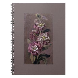 Buketten av Gilly blommar anteckningsboken Anteckningsbok