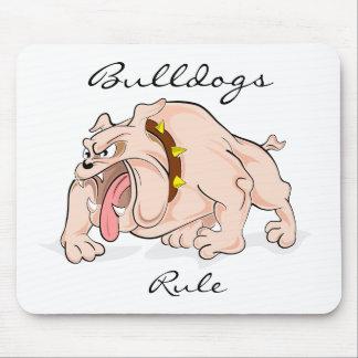 Bulldoggar härskar Mousepad Musmatta