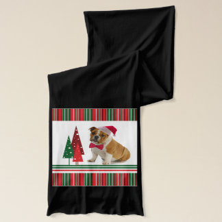 BulldoggjulScarf Sjal