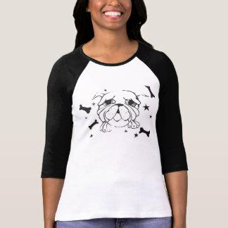 BulldoggtryckT-tröja T-shirt