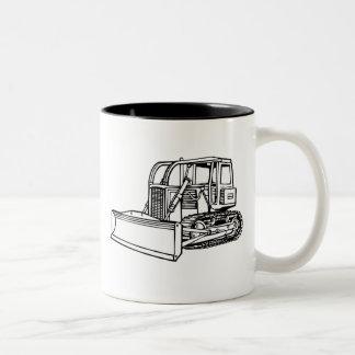 bulldozer Två-Tonad mugg