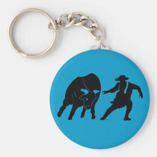 Bullfighter 100 rund nyckelring