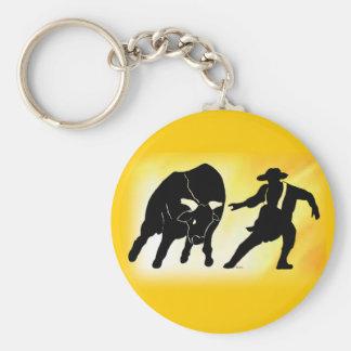 Bullfighter 102 rund nyckelring