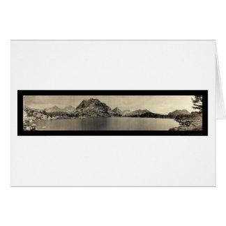 Bullfrog sjö 11000 ft foto 1911 hälsningskort