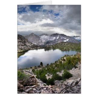 Bullfrog sjö - John Muir slinga Hälsningskort