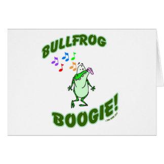 BullfrogBoogie Hälsningskort