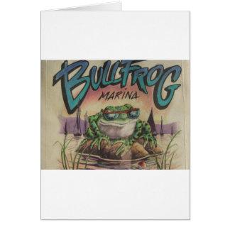 BullfrogMarina Hälsningskort