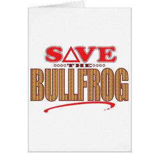 Bullfrogspara Hälsningskort