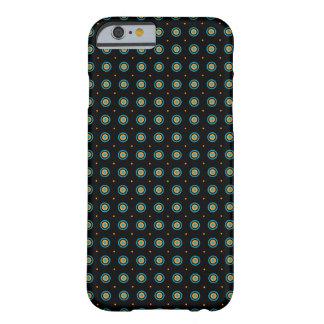 bullseyemönsteriPhone 6/6s, knappt där Barely There iPhone 6 Skal