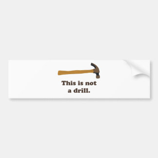 Bulta - denna är inte en drillborr bildekal