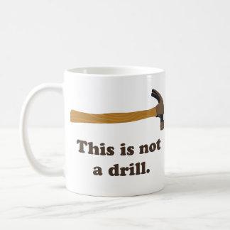 Bulta - denna är inte en drillborr kaffemugg