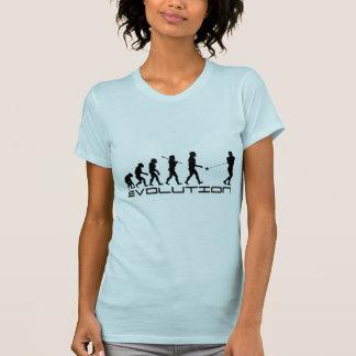 Bulta konst för kastsportevolution tee shirt