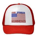 Bultad stjärna Spangled Baseball Hat