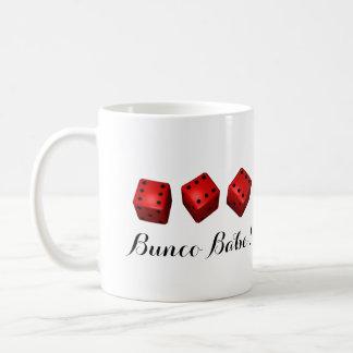 Bunco Babe eller din kända tärning Kaffemugg