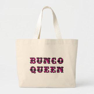 Bunco drottningBunco tillförsel hänger lös Jumbo Tygkasse